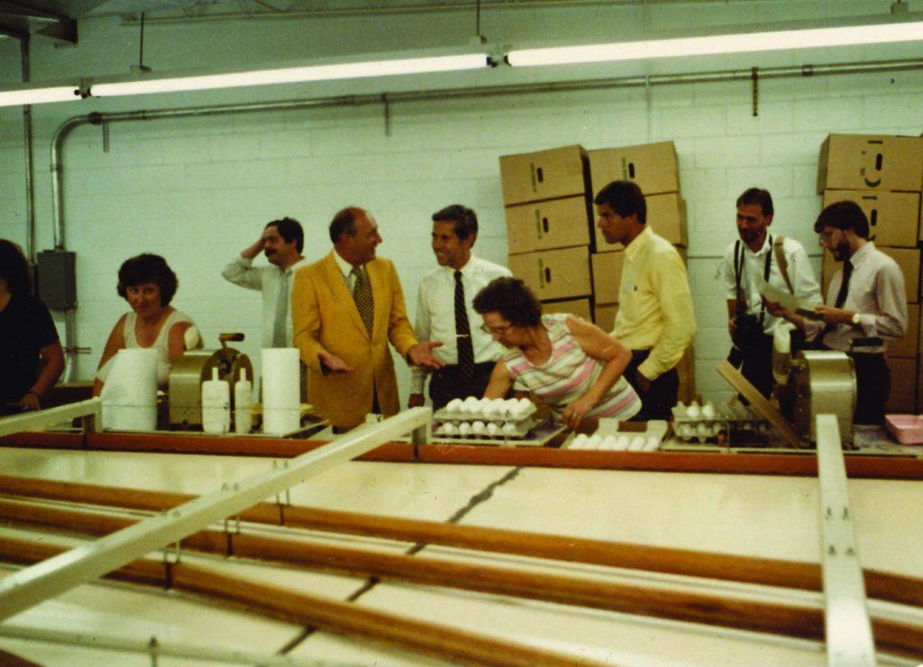 Wabash Valley   Egg Supplier - Aug 81 inside building