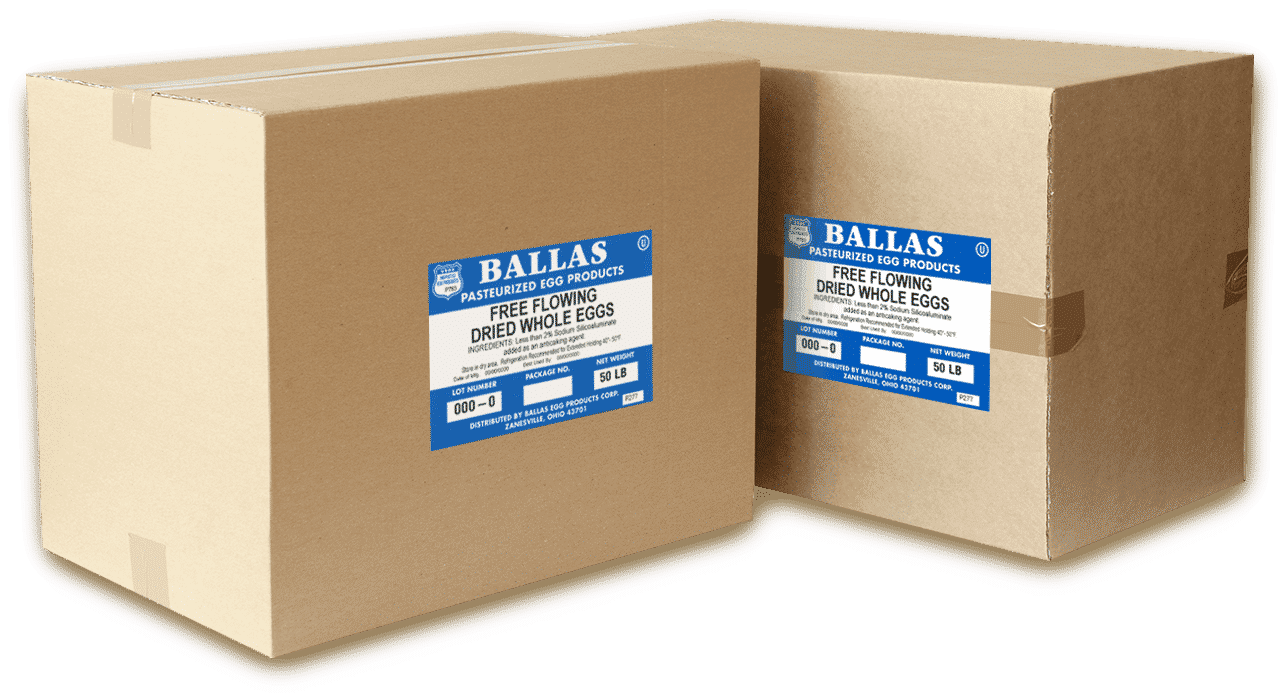BALLAS Pasteurized Egg Products