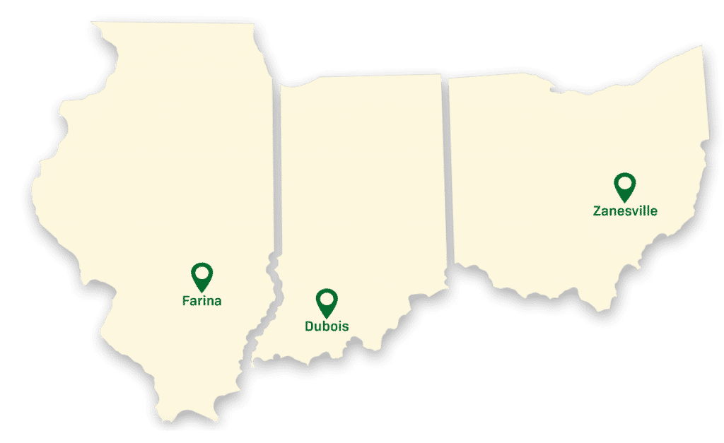 Wabash Valley   Egg Supplier - wvp locations pin map 1